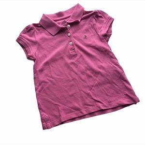 🧚♀4/$25 TOMMY HILFIGER Girls 3T Pink Polo